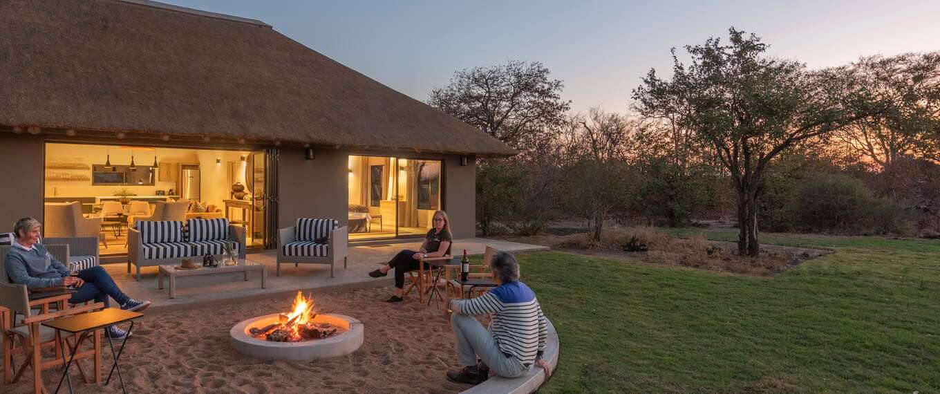 Luxury accommodation inside Kruger National Park at Xanatseni Camp
